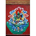 Green Tara in Dichen Choling Gompa - South Sikkim, India
