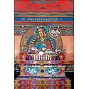Guru Padmasambhava in Dichen Choling Gompa - South Sikkim, India