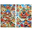 Manifestation of Padmasambhava - Set of 2 Posters