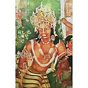 Vajrapani (Reprint of Ajanta Cave Painting), India