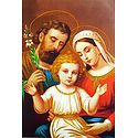 Joseph, Mother Mary and Baby Jesus