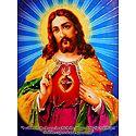 Sacred Heart of Jesus - Glitter Poster