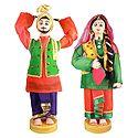 Pair of Bhangra Dancers - Set of 2