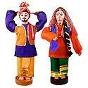 Bhangra Dancers from Punjab