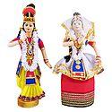 Manipuri Radha Krishna Doll