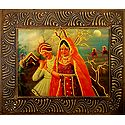 Gujrati Couple - Wall Hanging