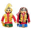 Bhangra Dancers Doll - Set of 2