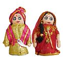 Marwari Bride and Bridegroom Doll