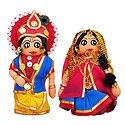 Radha Krishna Doll - Set of 2