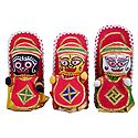 Jagannath, Balaram, Subhadra - Set of 3