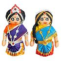 Tamil Couple Doll