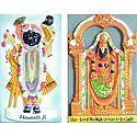Balaji and Srinathji - Set of Two Magnets
