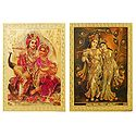 Radha Krishna - Set of 2 Magnets