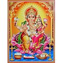 Ganesha with Riddhi
