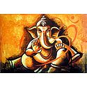 Ganesha with Om