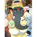 Gajanan - Paper Poster