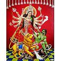 Mahishasuramardini Durga - Glitter Poster
