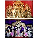 Durga - The Slayer of Mahishasura - Set of 2 Photo Print
