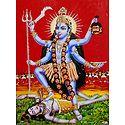 Goddess Kali - Glitter Poster