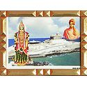Kanyakumari, Swami Vivekananda and Rock Temple - Table Top Picture