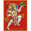 Hanuman Carrying Gandhamadan Parvat