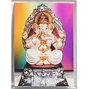 Ganapati - Acrylic Framed Table Top Picture