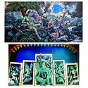 Radha Krishna and Devi Durga - Set of 2 Posters