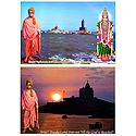 Vivekananda, Kanyakumari - Set of 2 Laminated Posters