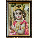 Young Krishna - Wall Hanging