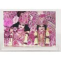 Radha Krishna - Table Top Acrylic Framed Picture