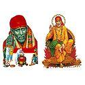 Shirdi Sai Baba - Set of 2 Stickers