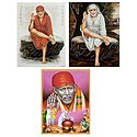Shirdi Sai Baba - Set of 3 Posters