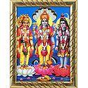 Tridev - Brahma, Vishnu and Shiva