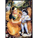 Yashoda and Krishna - Table Top