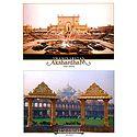 Garden of Akshardham Temple, New Delhi - 2 Small Posters
