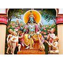 Lord Vishnu with Char Kumar