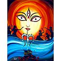 Photo Print of Durga - The  Feminine Force