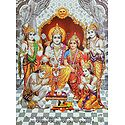 Ram Darbar - Glitter Poster