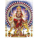 Bhagawati - Glitter Poster