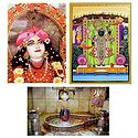Krishna, Mahakaleshwar and Balaji - Set of 3 Posters