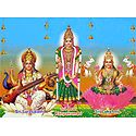 Lakshmi, Saraswati and Kanyakumari