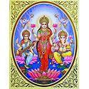 Lakshmi,Saraswati and Ganesha