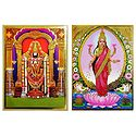 Balaji, Lakshmi - Set of 2 Posters