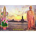 Swamy Vivekananda and Kanyakumari