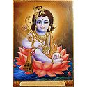 Young Rama Sitting on Lotus