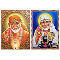 Shirdi Sai Baba - Set of 2 Posters
