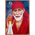 Shirdi Sai Baba in Abhay Mudra