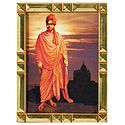 Swami Vivekananda - Framed Table Top Picture