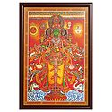 Lord Vishnu - Wall Hanging