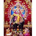 Vishwakarma - Architect of the Heaven - Glitter Poster